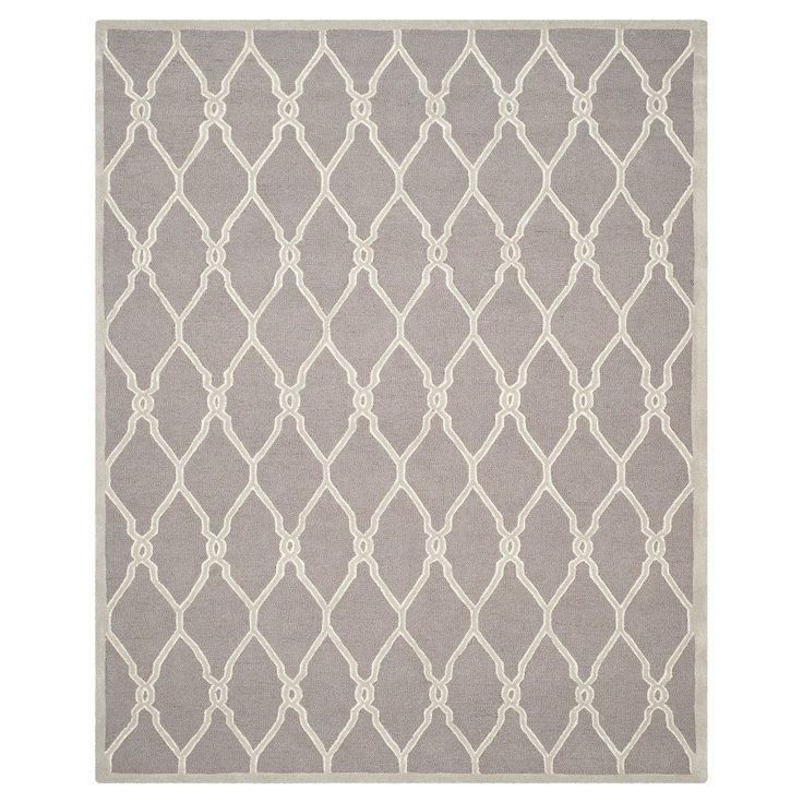 Safavieh Orli Area Rug - Dark Grey / Ivory ( 10' X 14' ), Dark Grey/Ivory