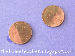 cleaning pennies science experiment
