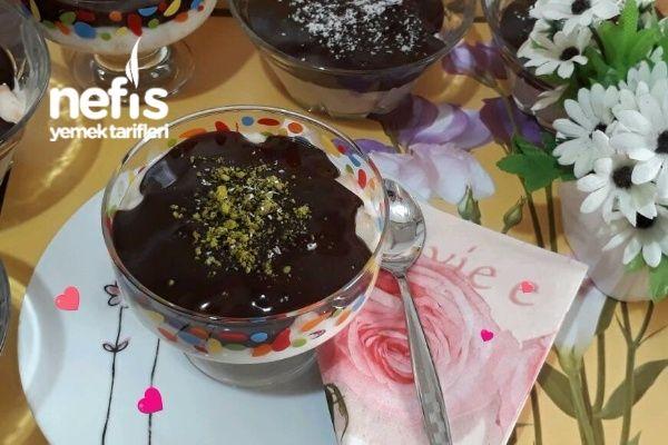 Çikolata Soslu Etimekli Kuplar Tarifi nasıl yapılır? bu tarifin resimli anlatımı ve deneyenlerin fotoğrafları burada. Yazar: Ebru Özkan