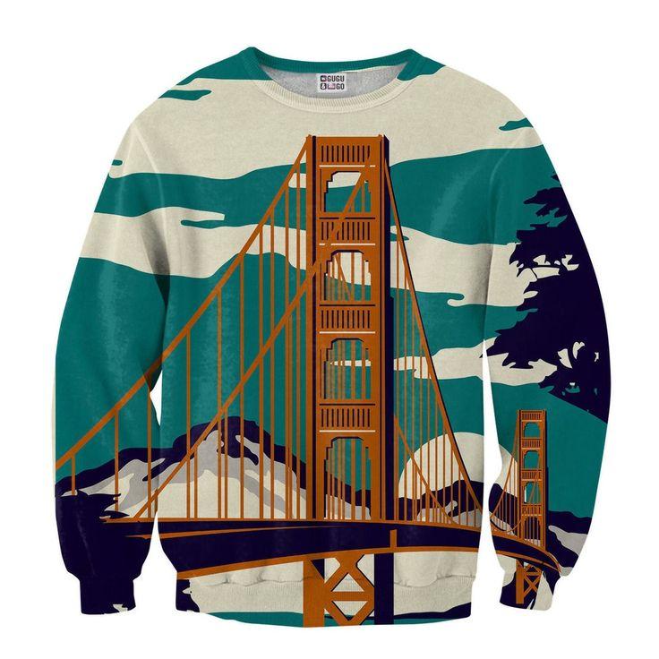 Image of Golden Bridge Sweater