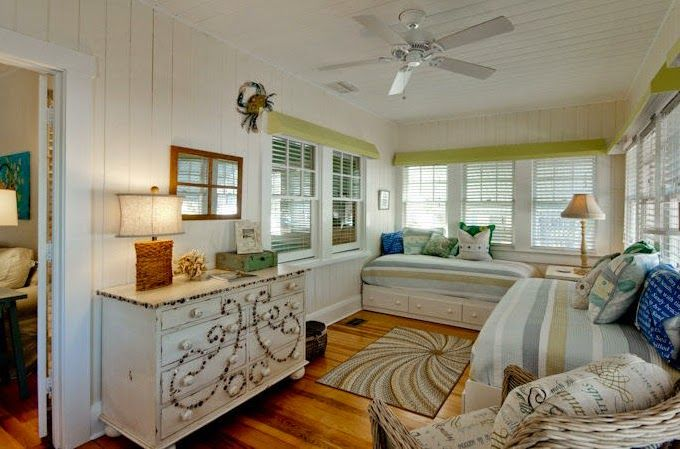 My dresser might want to put shells on, too!  House of Turquoise: Beach Basket - Anna Maria Island