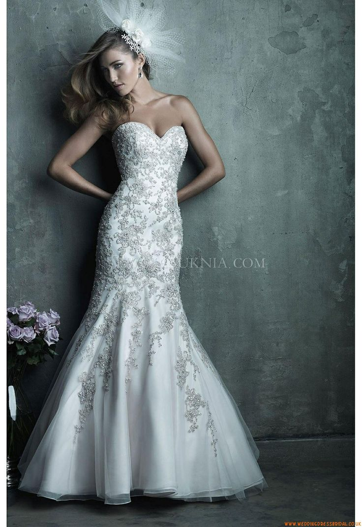 77 best Wedding Dresses Allure images on Pinterest | Wedding frocks ...