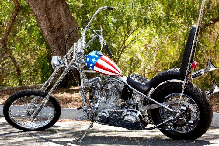 The Captain America Easy Rider bike is going toauction in October of 2014 and is expected to fetch over one million dollars.