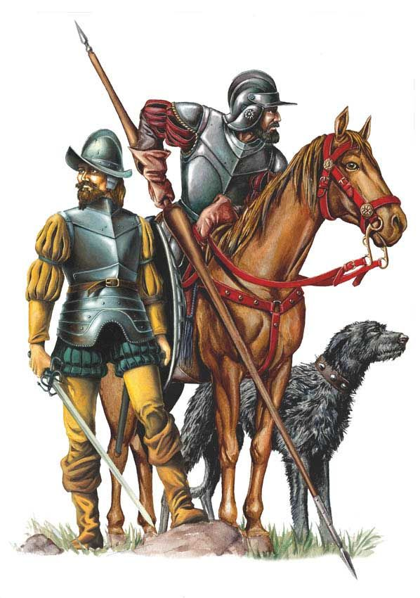 Spanish Conquistadors, 16th Century AD
