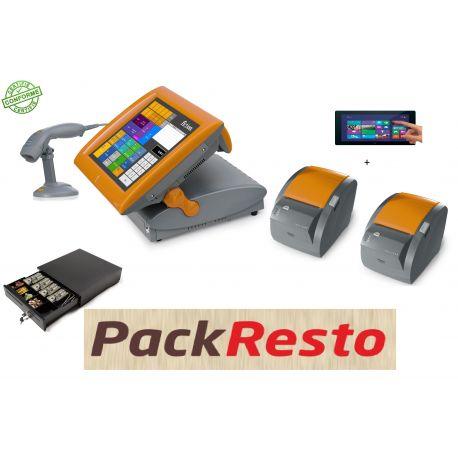 Pack #Resto #Caisseenregistreuse tactile pas cher #Posligne Odyssé 2 avec logiciel normes NF525, afficheur client, tiroir-caisse, lecteur de code barre,2 imprimantes tickets,1 tablette prise de commande. 1Heure de #Formations Offerte. 1590,00 € TTC