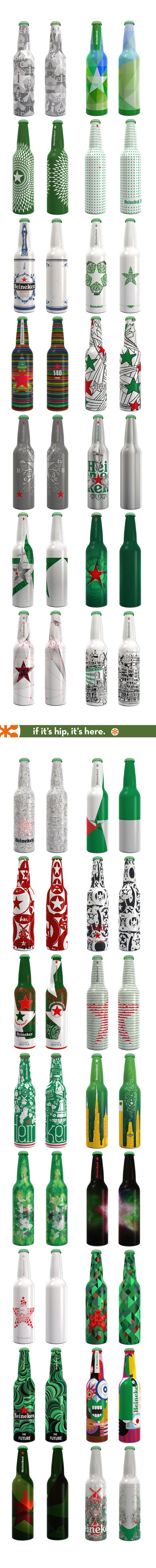 ALL the finalists and the winner of the Heineken Future Bottle Remix Competition. Please be sure to link to the post if you repin - this was a lot of work, lol. Thanks Laura PD