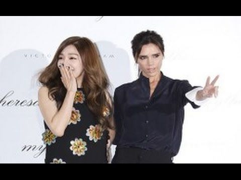 SNSD) Tiffany and Victoria Beckham to join the party 'Mytheresa Victoria...
