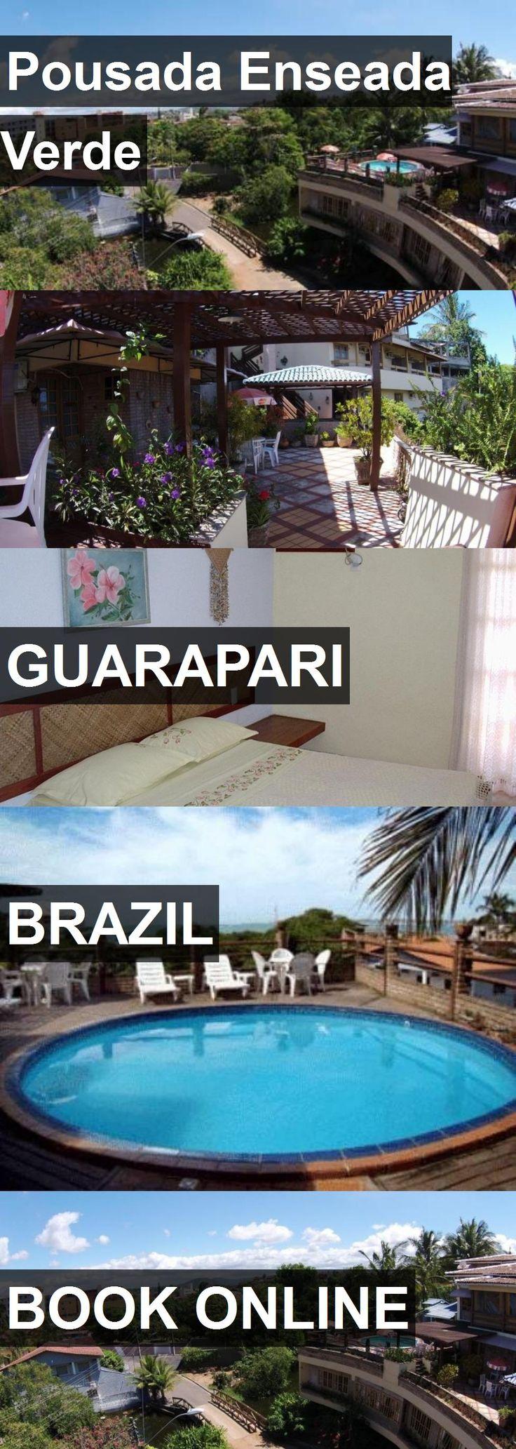 Hotel Pousada Enseada Verde in Guarapari, Brazil. For more information, photos, reviews and best prices please follow the link. #Brazil #Guarapari #PousadaEnseadaVerde #hotel #travel #vacation