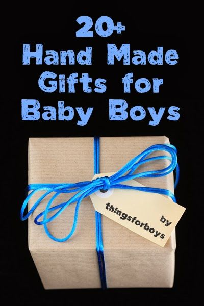 20 Handmade Gift Ideas for Baby Boys - things for boys