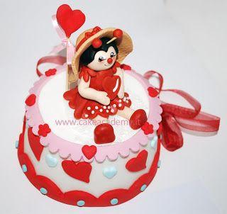 cake academy: COCCINELLA DEL CUORE