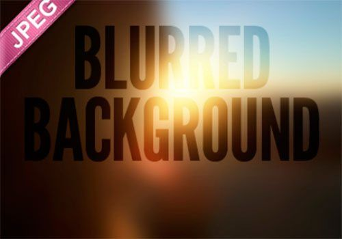 Blurred Backgrounds by Timothy Whalin