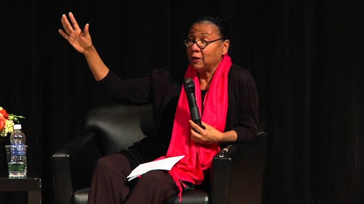 WATCH THIS. ...all of it (96 minutes). Black Female Voices: Public Dialogue between bell hooks and Melissa Harris-Perry