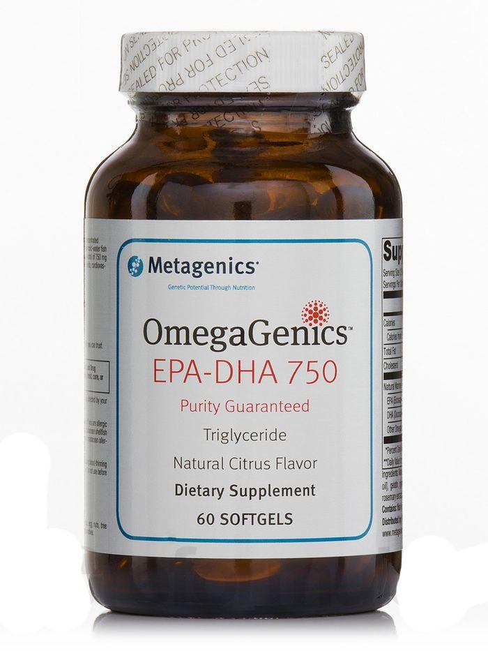 OmegaGenics - EPA DHA 750