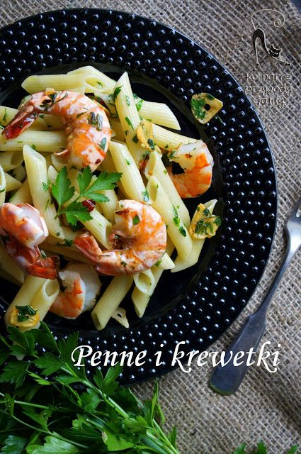 Kulinarne przygody Gatity: Makaron aglio & olio z krewetkami