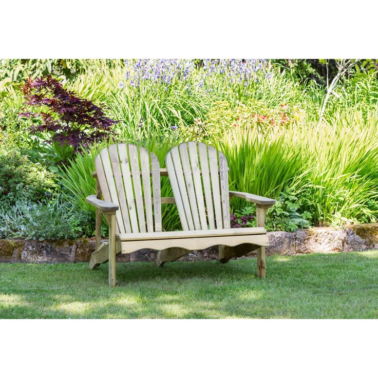 zest 4 leisure lily wooden garden bench