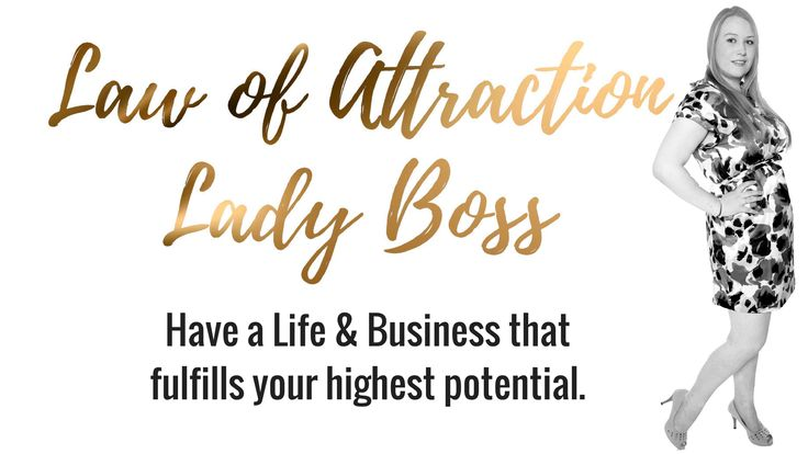 Law of Attraction Lady Boss - Law of Attraction Lady Boss, Sabrina Jensen