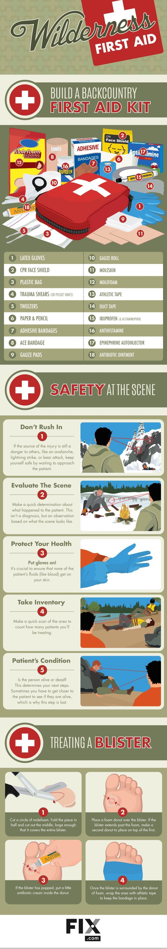 Study what to pack in your first help package earlier than heading out to the backcountry!....  See more at the image