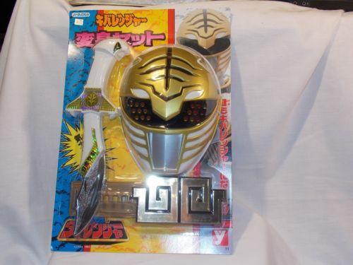 Mighty-Morphin-Power-Ranger-Saba-Sword-Dairanger-Deluxe-Cosplay-Mask-Belt-1993