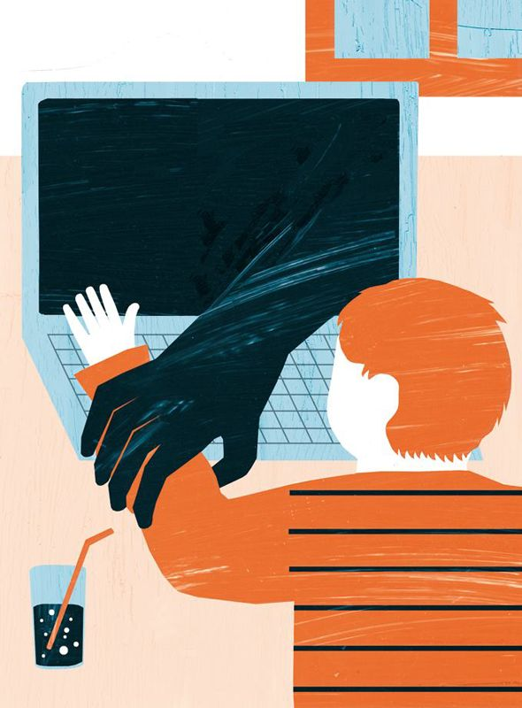 Editorial Illustration by Katinka Reinke for Aargauer Zeitung