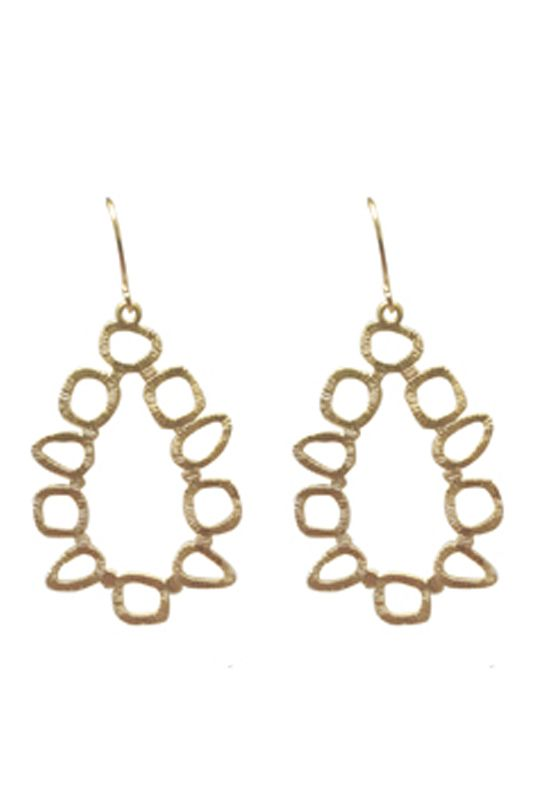ABSTRACT DANGLES- A$40.00 Matte gold/silver plated abstract dangle shapes attached to matte gold/silver plated hooks Approx dimensions: 55mm x 30mm (including hook) Earrings for Bridesmaids