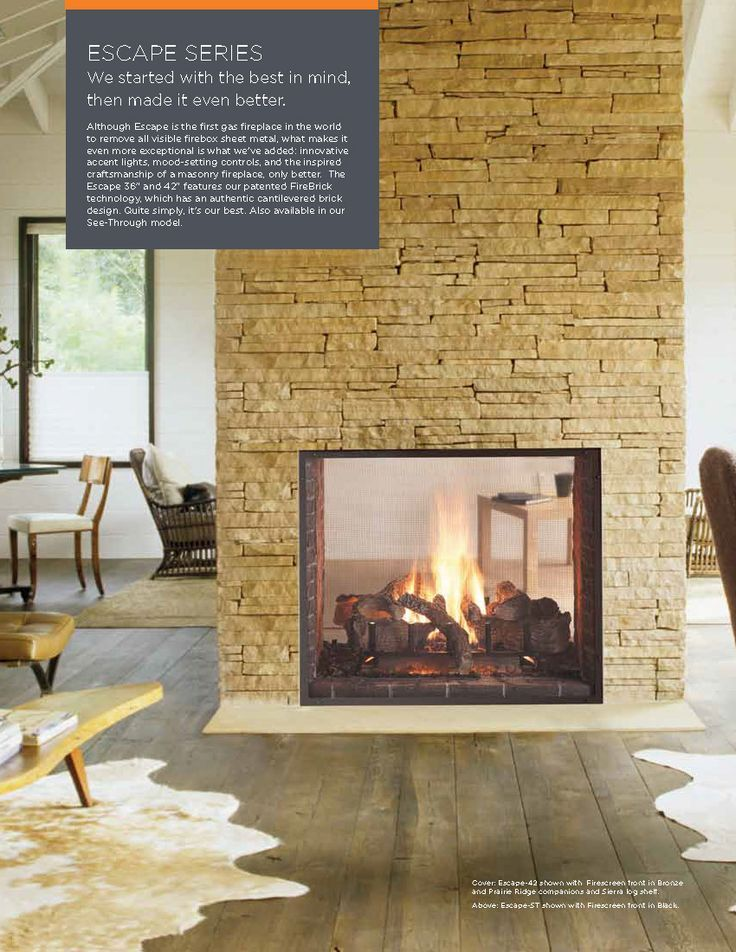 Best 25+ See through fireplace ideas on Pinterest   Double ...