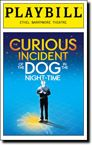 Curious Incident of the Dog in the Night-Time, The at Ethel Barrymore Theatre Broadway NYC Oct 2014 with Tanner, Anna Louise & the Knauff girls