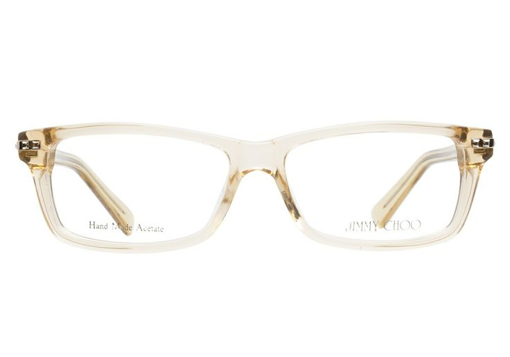 Jimmy Choo 59 Ham Salmon Eyeglasses Are Clearly Glamorous