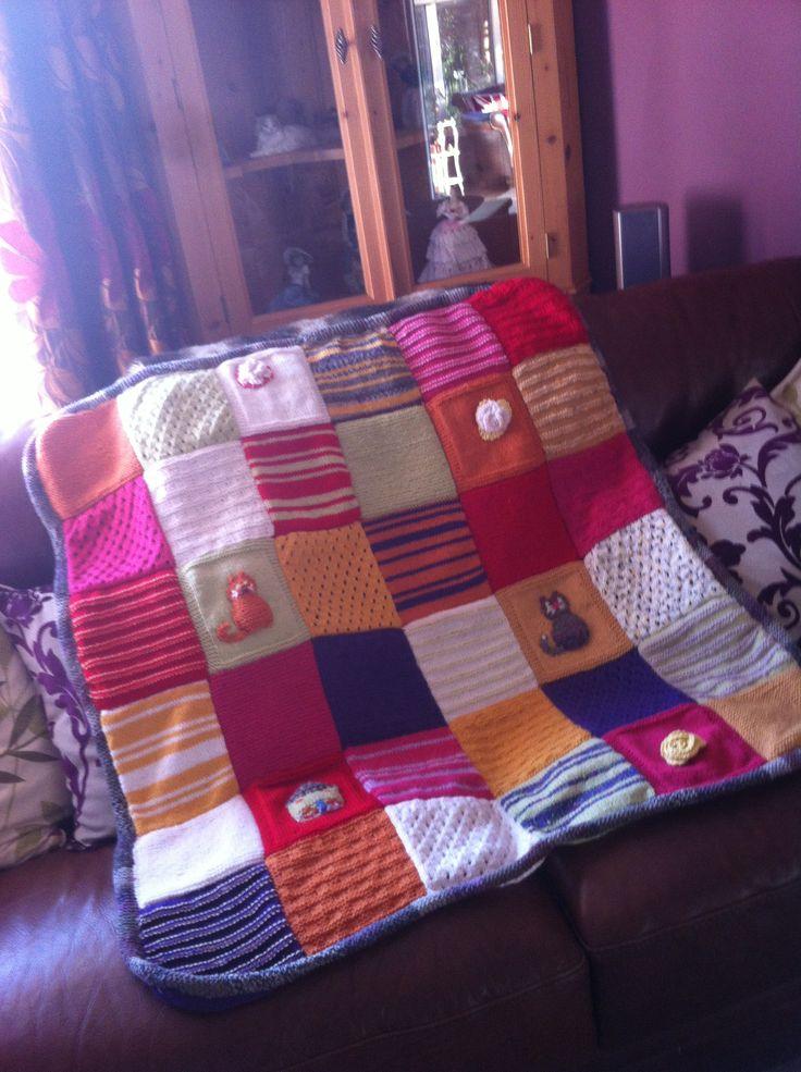 Battersea Dog Blanket Knitting Pattern : Pinterest   The world s catalog of ideas