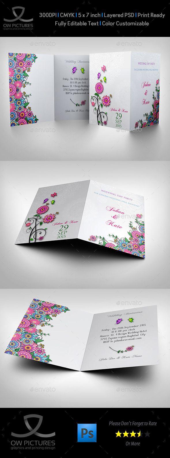 Wedding Invitation Card Template Vol11 180 best
