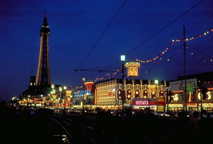 Blackpool, UK illuminations