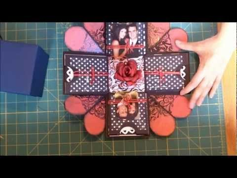 Exploding box video.  No measurements or verbal instructions, but a good…