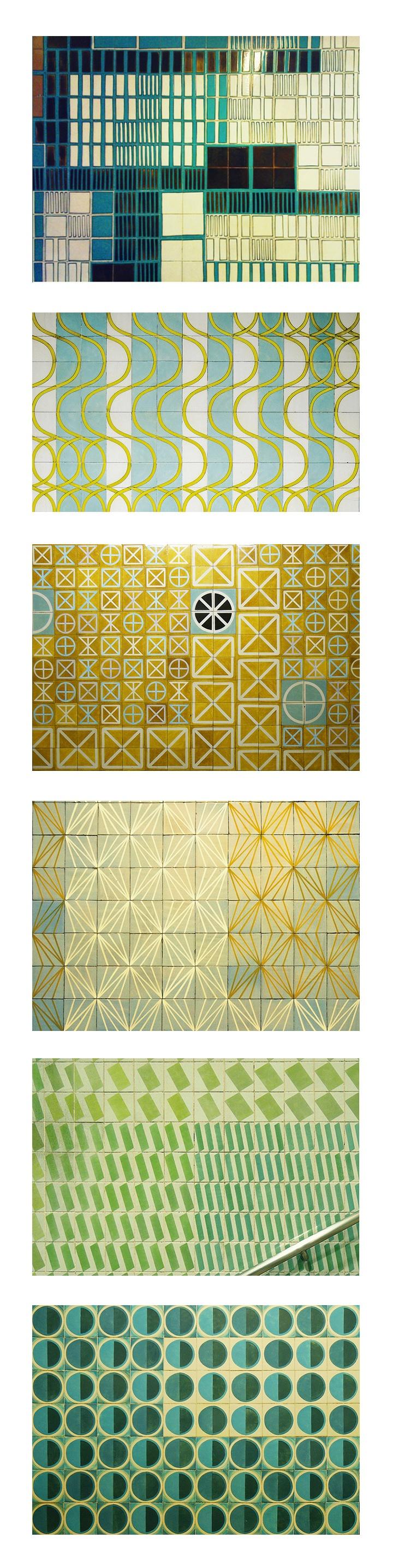 azulejos * Maria Keil * Portugal <3