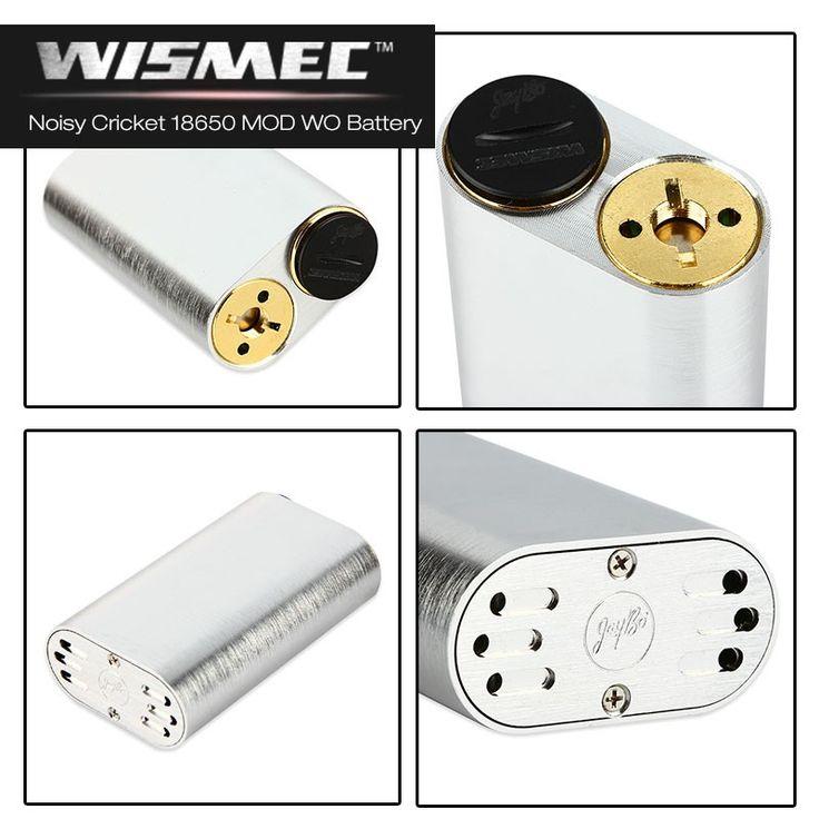 Wismec Noisy Cricket 18650 Mech Mod By JayBo | My-eLiquid E-Zigaretten Shop | München Sendling
