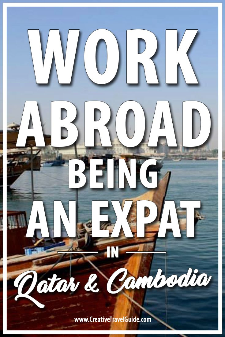 As part of our working abroad series, we interview Penelopi about being an expat in Qatar and Cambodia - we talk about work, life and all things travel.