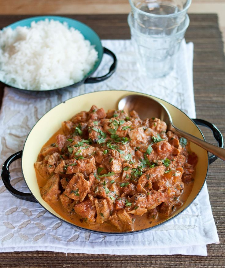 Although chicken tikka masala is more British than Indian, you'd be hard-pressed to find an Indian restaurant that doesn't have this creamy, bright-orange dish featured prominently on its menu.