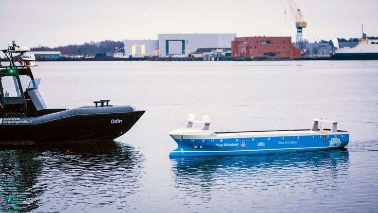 Norway Opens New Test Area for Autonomous Ships
