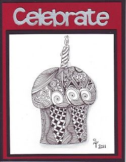 Best Images About Zentangle Card Ideas Jpg 249x320 Happy Birthday Pattern