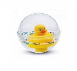 Bu içi su dolu şeffaf topun içinde yüzebilen sevimli bir civciv ve her renkten oluşan boncuklar bulunmaktadır.  Hem suda, hem de yerde oynanabilir.  Yaş Grubu: 3 ay ve üzeri