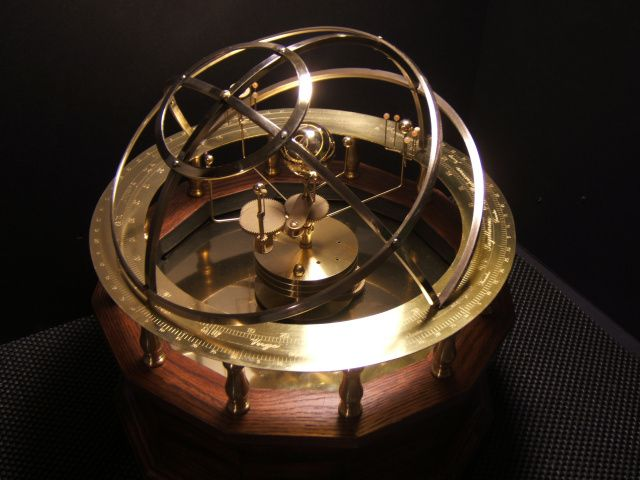 This Lovely Orrery Mirrors The Style Of The Grand Orreries