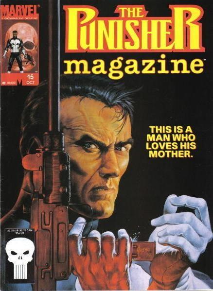 The Punisher Magazine vol 1 #15