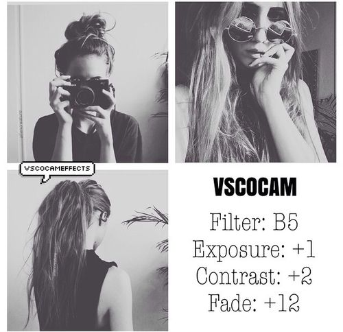 VSCO Cam Filter Settings for Instagram Photos | Filter B5