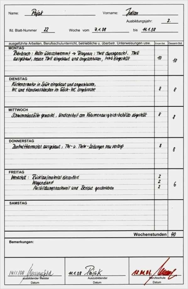 42 Wunderbar Ihk Vorlage Berichtsheft Abbildung In 2020 Vorlagen Vorlagen Word Rechnungsvorlage