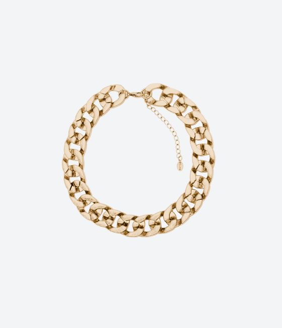 ZARA - KIDS - SHINY CHAIN LINK NECKLACE