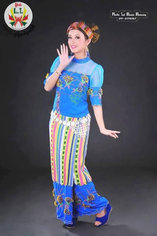 Khay Moe - Shan Traditional Costume