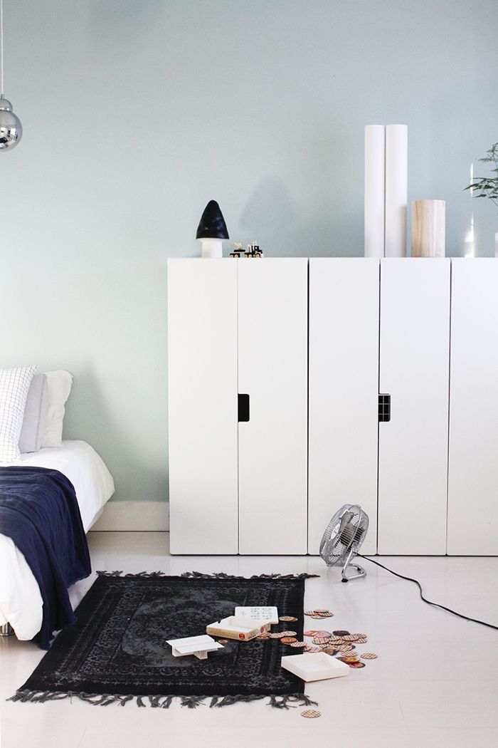 IKEA wardrobe in children's room
