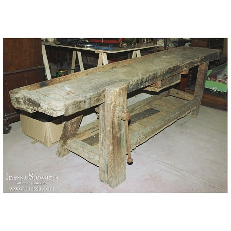 66 Best Antique Work Benches Images On Pinterest: 156 Best Carpenter's Bench Images On Pinterest