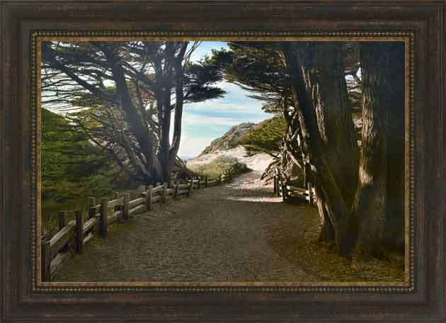 big sur by michael cahill framed art by midwest art frame inc your wholesale art manufacturer - Wholesale Arts And Frames