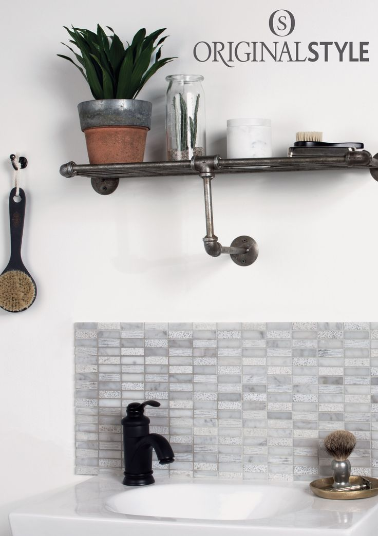 Nares Running Brick mosaic by Original Style make for or a stunning splashback. These marble mosaics can be used as wall tiles and floor tiles.