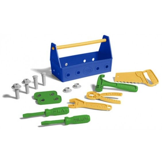Green Toys - Eco Friendly Tool Set Never too young to start learning about handy tools! #Entropywishlist #pintowin