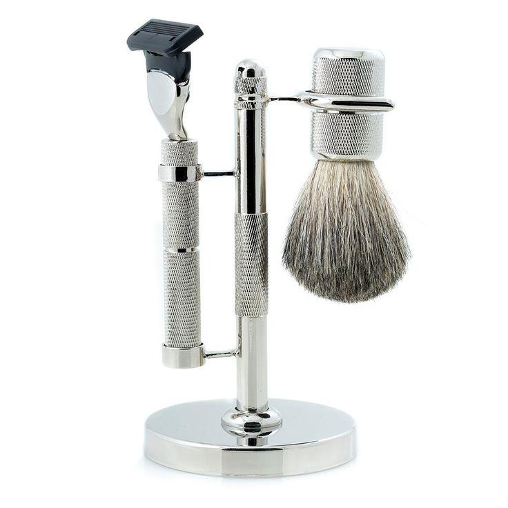 Bey Berk Fusion Razor Shaving Set, Silver